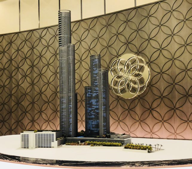Lodha Group's World One Tower with Armani/Casa